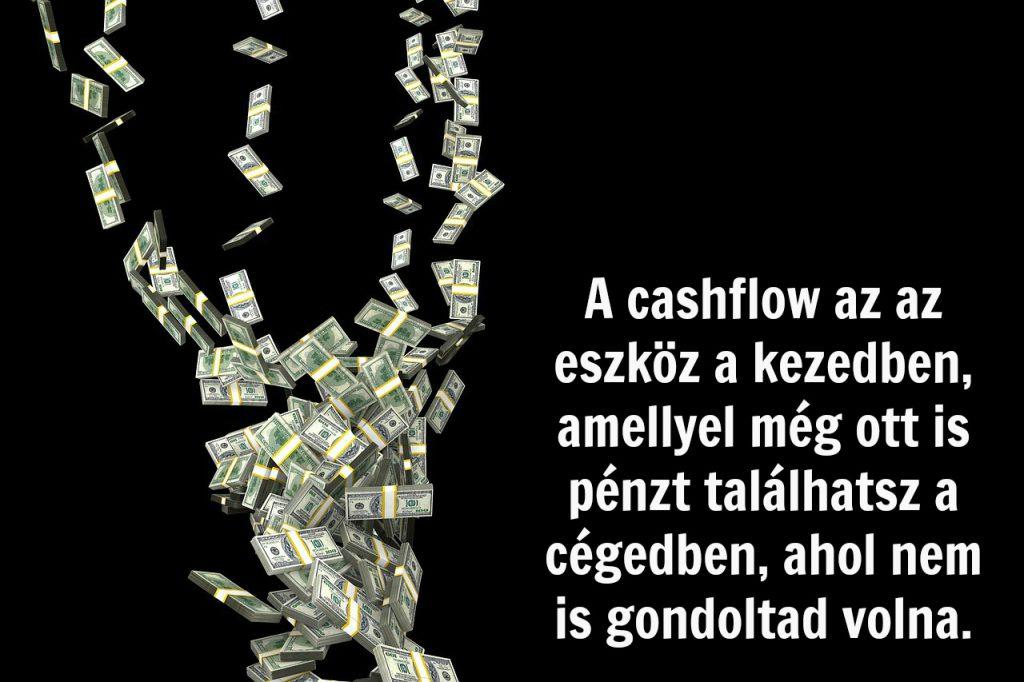 A cashflow dicsérete - ez az első eszköz a kezedben a pénzügyi CSI-hoz!