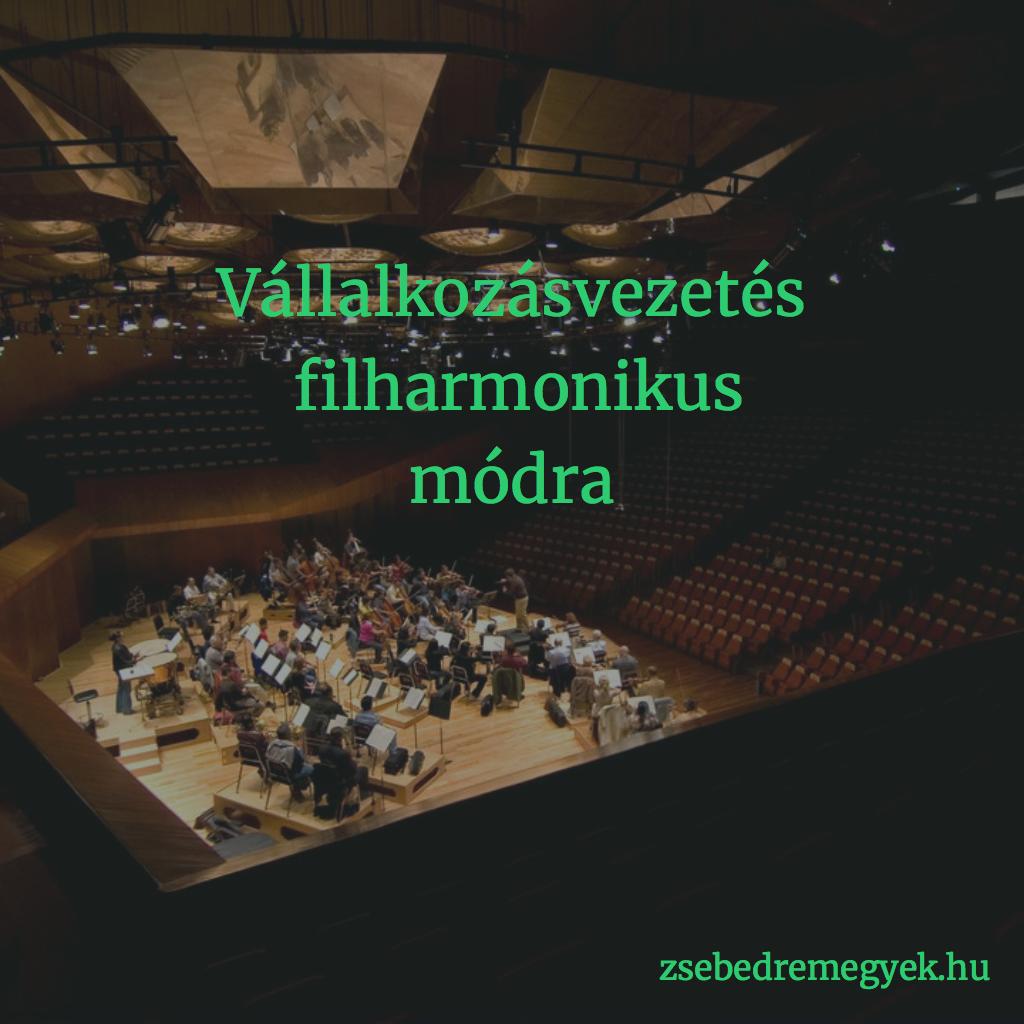 Vállalkozásvezetés és filharmonikus zenekar - több köze van a kettőnek egymáshoz, mint hinnéd!