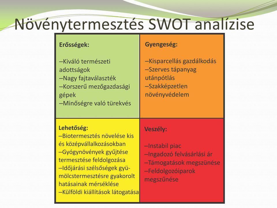 A növénytermesztés SWOT-analízise - a neten vadásztam. Ez az, amit a leggyakrabban csinálnak, és ez az, ami rossz.