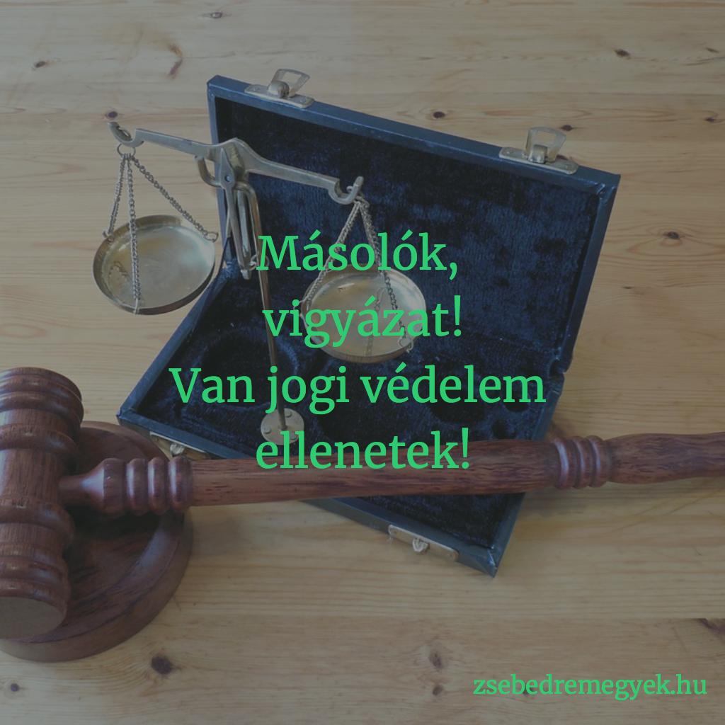 másolók elleni jogi védelem